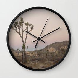 V is for Joshua Tree Wall Clock