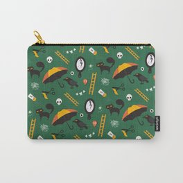 The Usual Suspects (Patterns Please) Carry-All Pouch