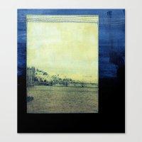 bridge Canvas Prints featuring Bridge by Neelie