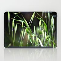 grass iPad Cases featuring grass by  Agostino Lo Coco