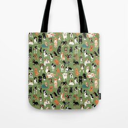 Hound District green Tote Bag