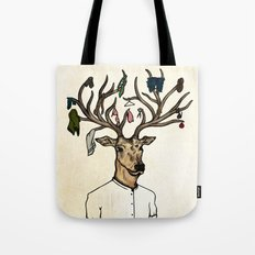 Evicted deer Tote Bag