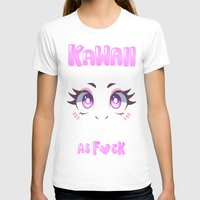 kawaii T-shirts featuring KAWAII by s3tok41b4