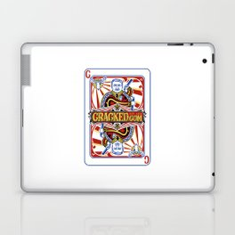The Cracked Wild Card Laptop & iPad Skin