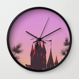Fantasy Castle Wall Clock