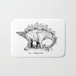 Figure One: Stegosaurus Bath Mat
