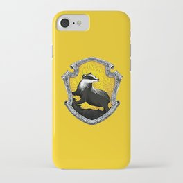 Hufflepuff Crest iPhone Case
