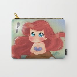 Ariel Little Mermaid Chibi Carry-All Pouch