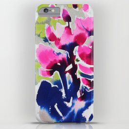 Botanika - Abstract Floral Watercolor iPhone Case