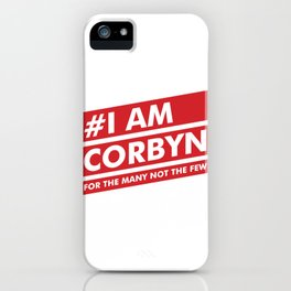 I Am Corbyn iPhone Case