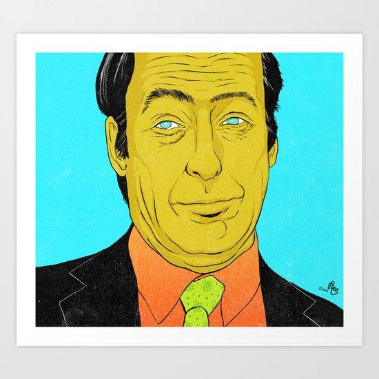 Breaking Bad Saul Art Print