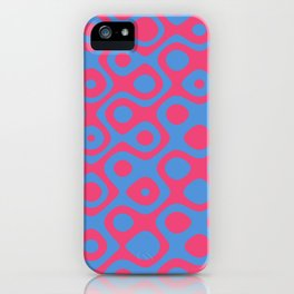 Brain Coral Red - Coral Reef Series 024 iPhone Case