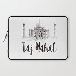 Taj Mahal watercolor Laptop Sleeve