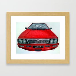 Lancia VX Framed Art Print