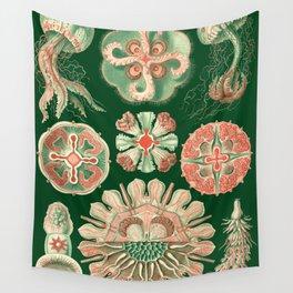 Ernst Haeckel Discomedusae Jellyfish Wall Tapestry
