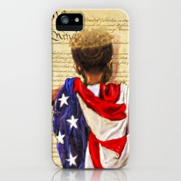 Stars and Stripes 2020 iPhone Case
