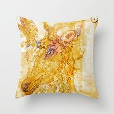 Rhythmic Alchemist Throw Pillow