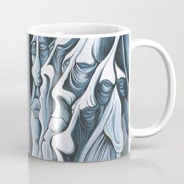Mountain Faces Coffee Mug