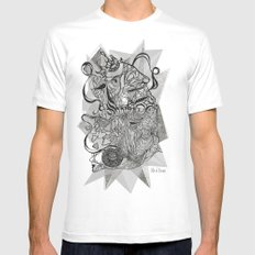 Life of Lines Mens Fitted Tee White MEDIUM