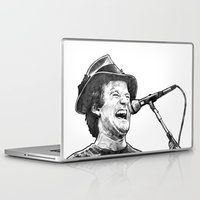 robin williams Laptop & iPad Skins featuring williams by BzPortraits
