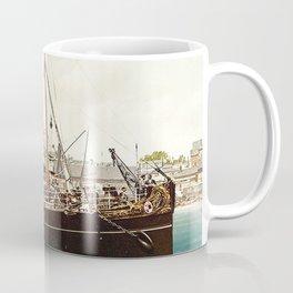 Vintage Ocean Liner Coffee Mug