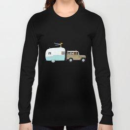 camping trip Long Sleeve T-shirt