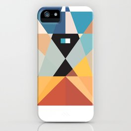 Deconstruct Ned Kelly iPhone Case