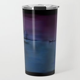 60 - Kerala fishing boat & morning sky Travel Mug