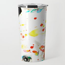 Color Me Frenchie Travel Mug