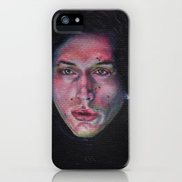 Torn Apart Fantasy Art by Laurie Leigh iPhone Case