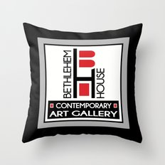 Bethlehem House Contemporary Art Gallery Throw Pillow