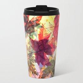 fallen leaves III Travel Mug