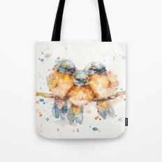 Little Bluebirds Tote Bag