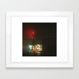 Towson, MD Framed Art Print