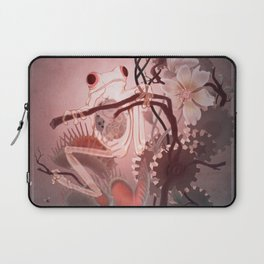 Clockwork Frog Laptop Sleeve