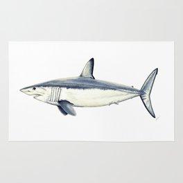 Mako shark (Isurus oxyrinchus) Rug