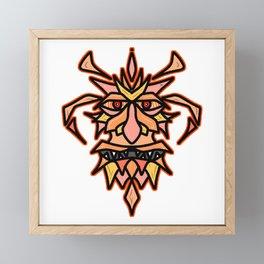 Fire Spirit Framed Mini Art Print