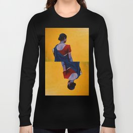 Red, Blue and Yellow Long Sleeve T-shirt