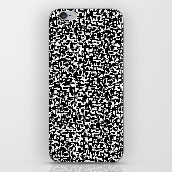 composition book iPhone & iPod Skin