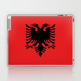 Flag of Albania - Authentic version Laptop & iPad Skin
