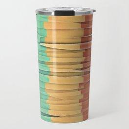 Shreds of Color Travel Mug