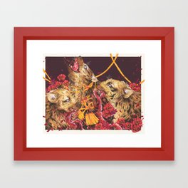 Bonds in Blood Framed Art Print