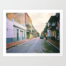 To Miss New Orleans Art Print