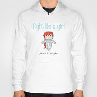 starcraft Hoodies featuring Fight Like a Girl - Starcraft's Kerrigan by ~ isa ~