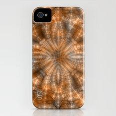 Fractal Imagination I - Amber iPhone (4, 4s) Slim Case