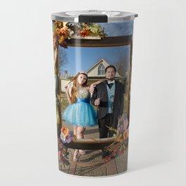 American Gothic Quinceañera Travel Mug
