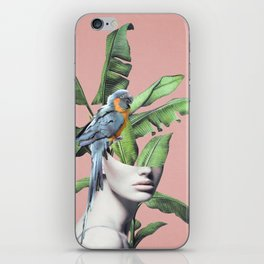 Tropical Girl  2 iPhone Skin