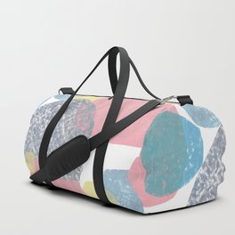 Gathering Graphic Abstract Print Duffle Bag