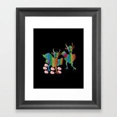 hatti matim tim Framed Art Print