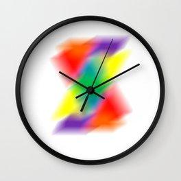 Rainburst Wall Clock